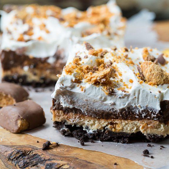 Peanut Butter Dessert Recipes: These Butterfinger, Peanut Butter, Chocolate Bars Will