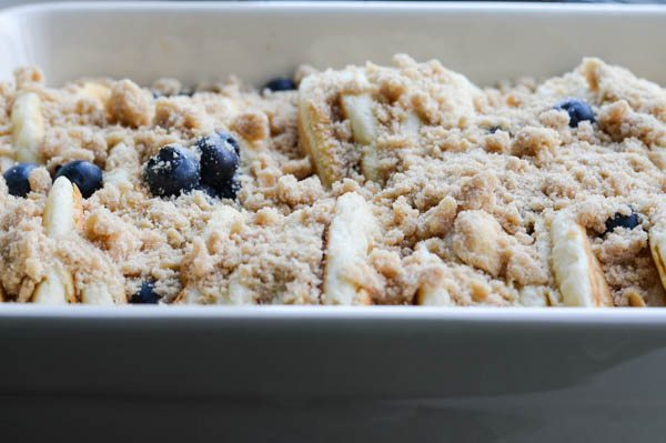 Blueberry Pancake French Toast Bake Is Breakfast From The ...