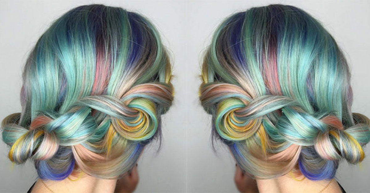 The Macaron Is A New Trend In Hair Thats Absolutely Beautiful