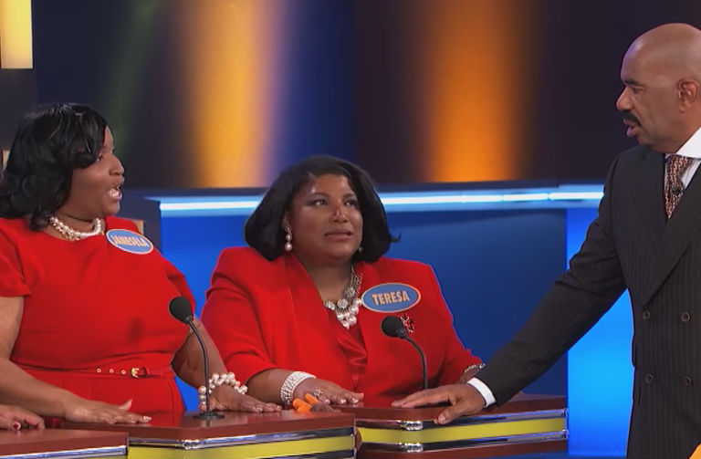 family feud has always been a time of laughter and relaxation for people all across the united states the show has been on now or years and years