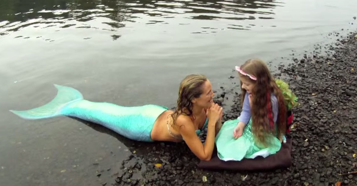 She Had One Wish. Now WATCH Who Swims Up And Makes Her Dreams Come True!