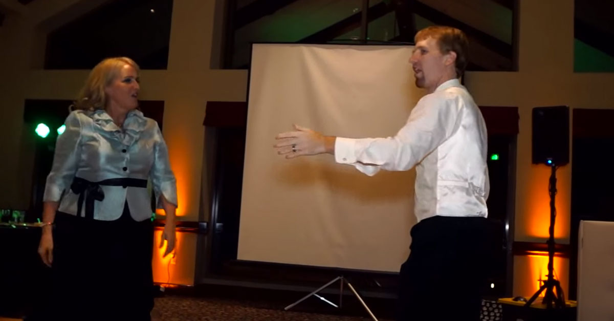 This Mother Son Wedding Dance Is One Of A Kind