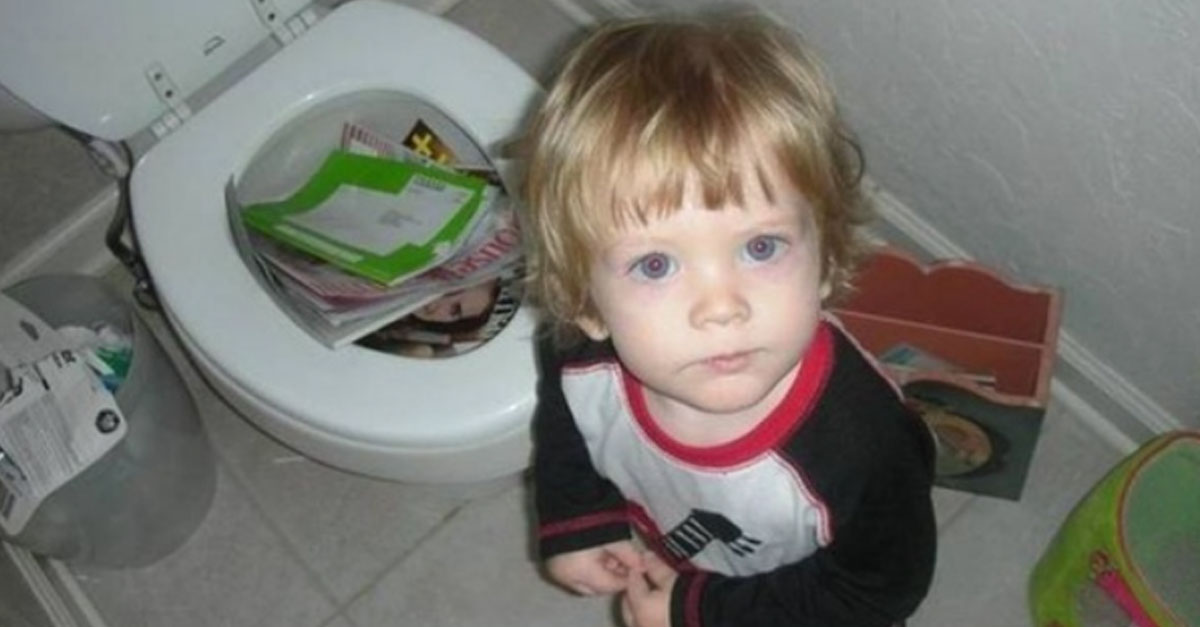 Child In Trouble All The Time