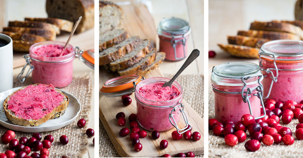 Learn How To Make Delicious Whipped Cranberry Butter