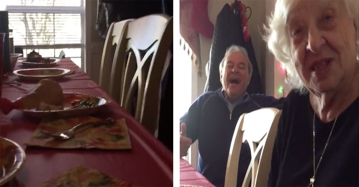 Man Pranks His Mom And Feeds Her A Rubber Drumstick For Dinner