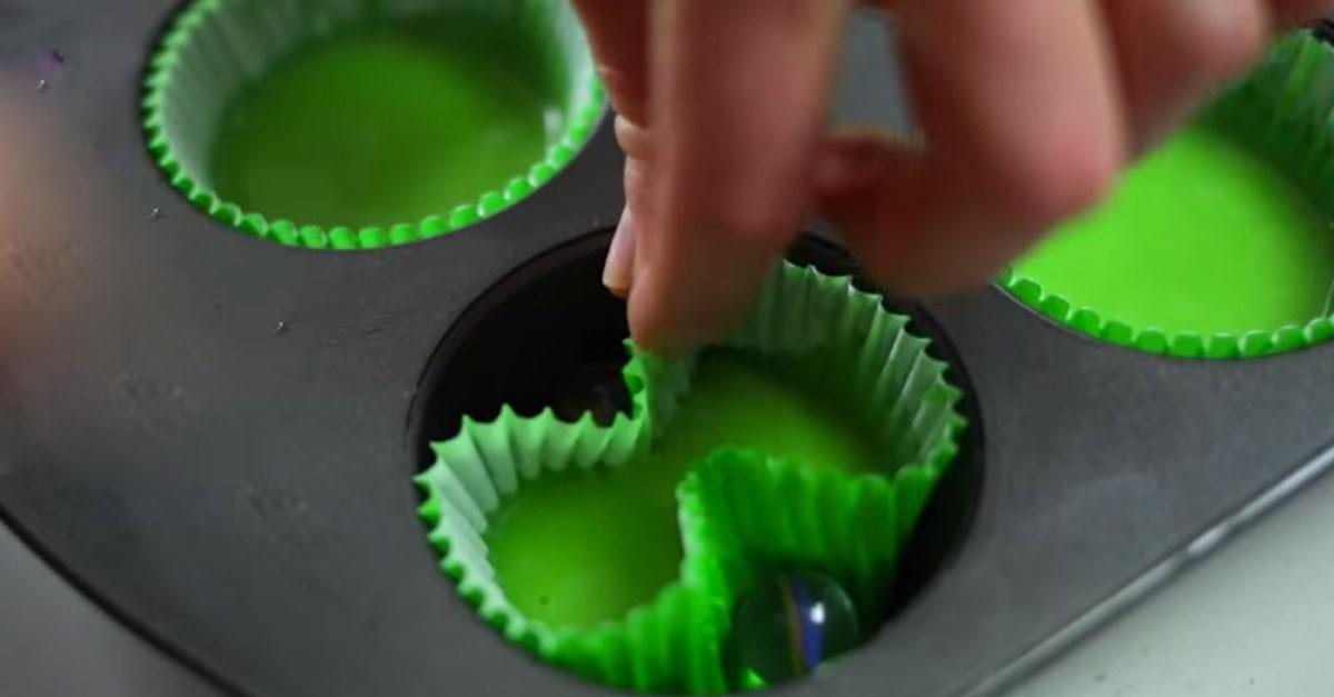 Create The Cutest Four Leaf Clover Cupcakes For St