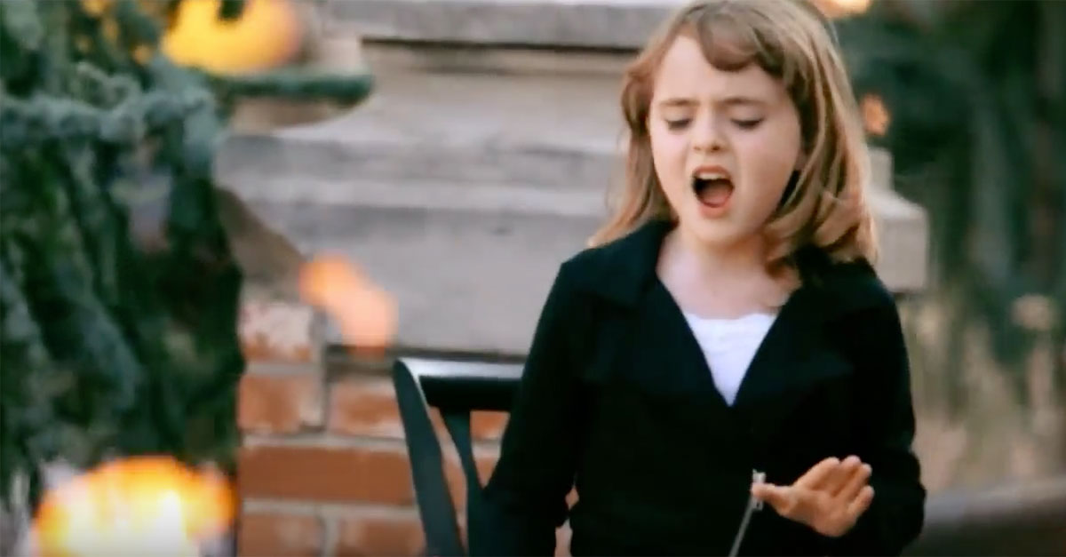 """Year-Old Girl Covers Adele\'s """"Rolling In The Deep"""""""