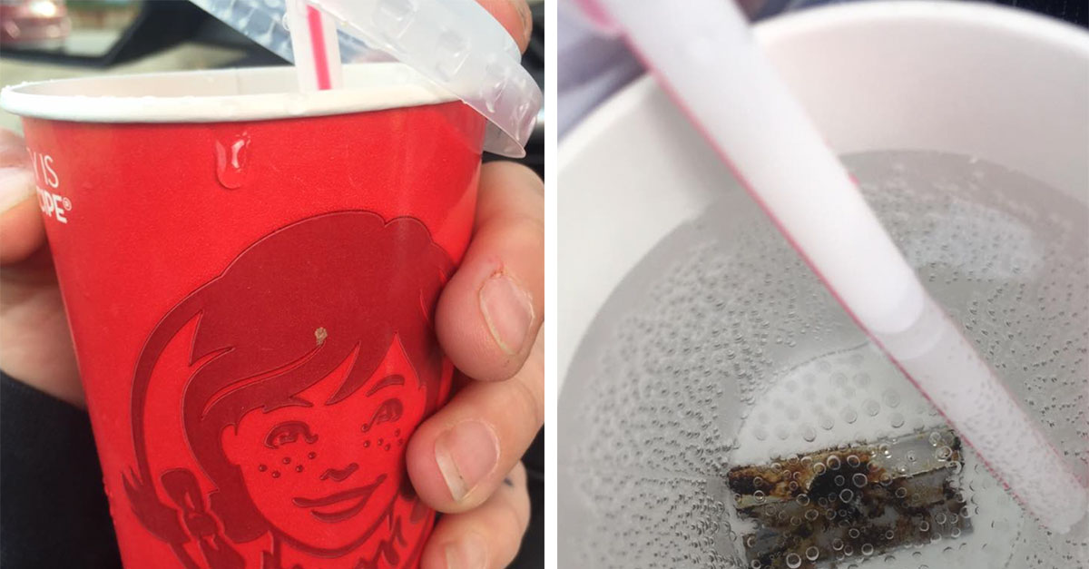 Mother Finds Rusted Razor Blade In Her Daughter's Soda Cup
