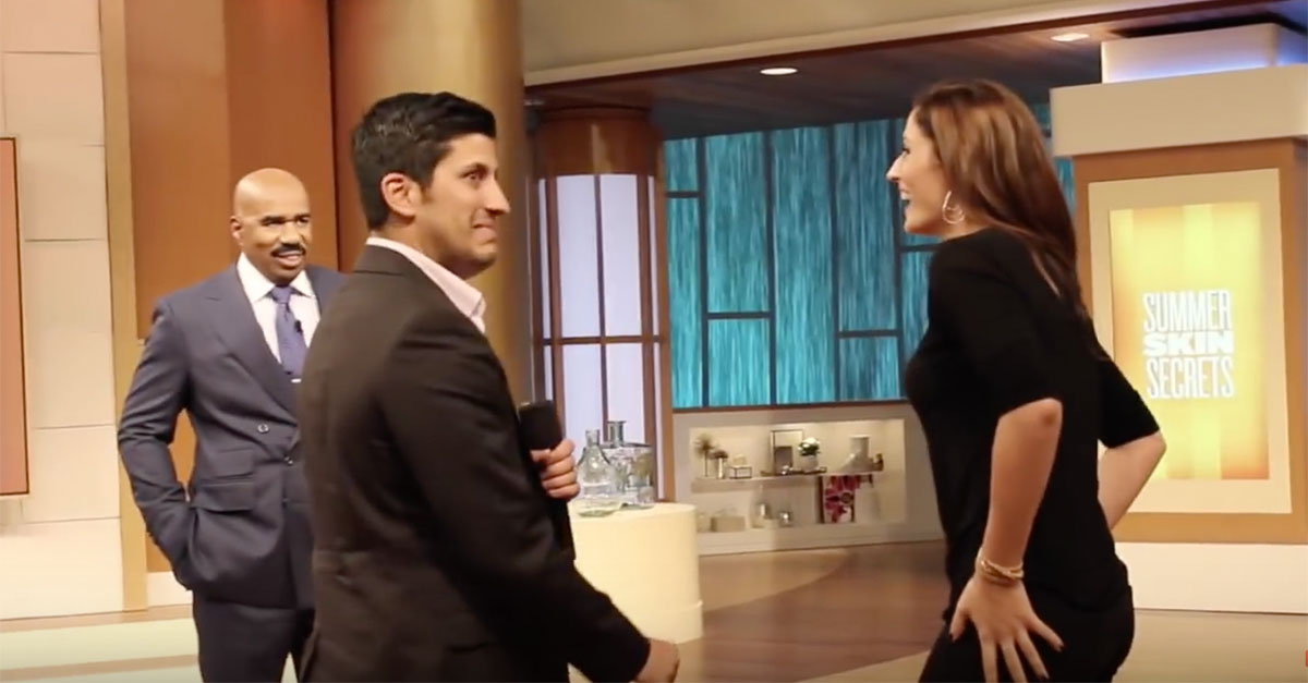 Proposes To Girlfriend In The Middle Of Steve Harveys Talkshow