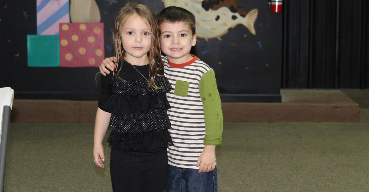 Adorable 5-Year-Old Friends Have Fun After No One Else Shows Up To Birthday Party