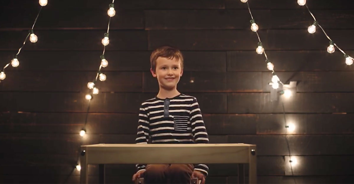 Cute Children Use Their Storytelling Skills To Teach Us About Christmas