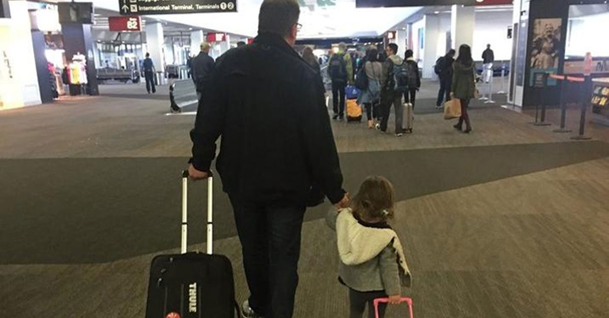 Public Relations Specialist Donates His Airline Miles To Deserving Families