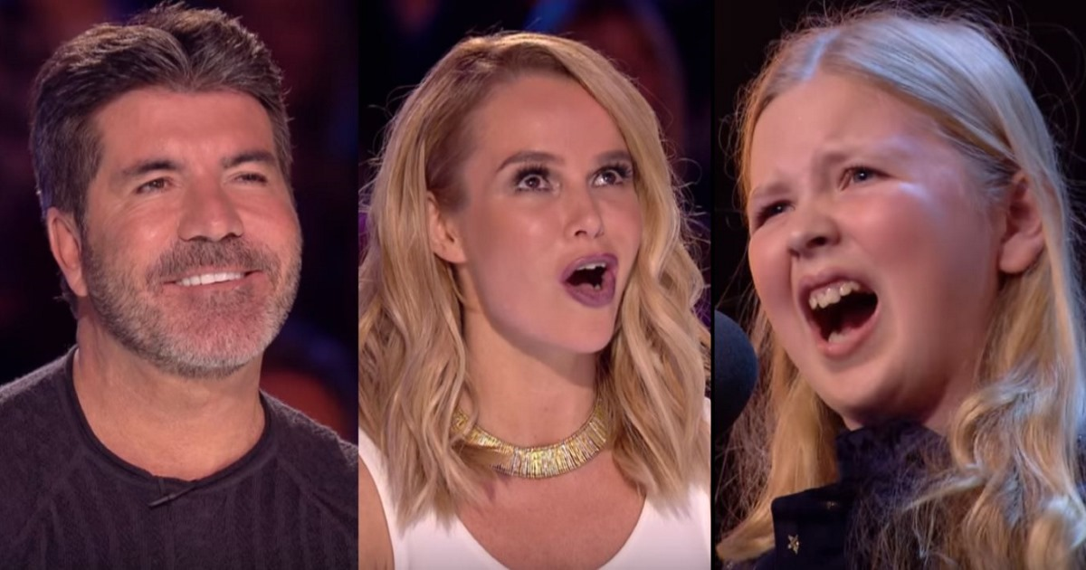 At First Judges Skeptical Of Little Girl's Hard Song Choice, Then Her 1st Verse Blows Them Away