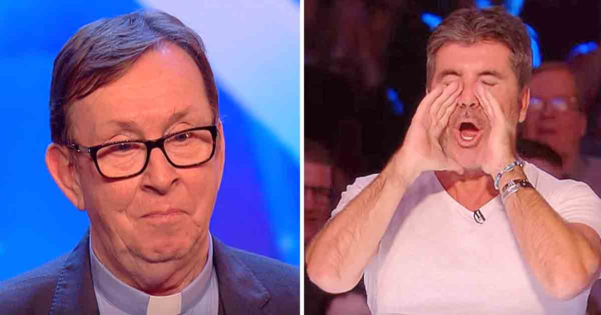 "Tears Were Flowing For Irish Priest's Song, Simon Even Says ""This Is My Favorite Ever Audition"""