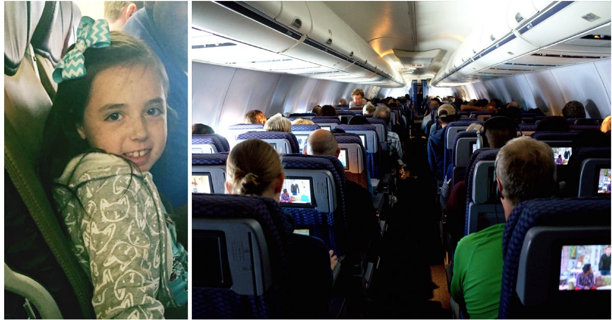 "Girl Started Having A Panic Attack Mid Flight. Mom Noticed Steward Feeding Her ""Special Drinks"""