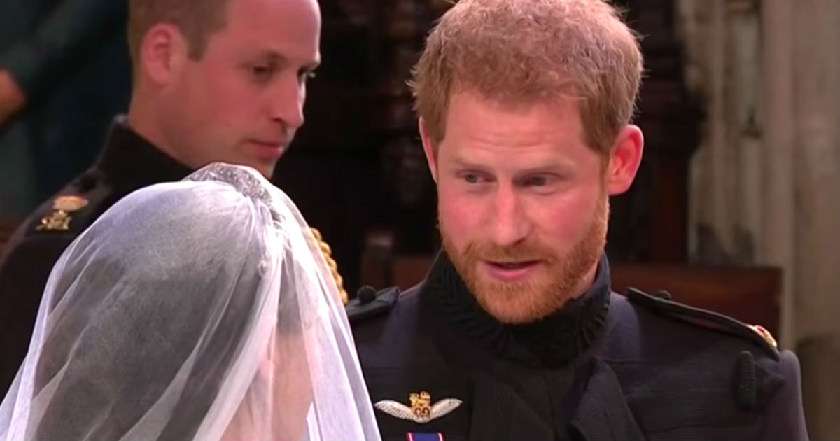 The First Words Prince Harry Spoke To His Bride Have Finally Been Revealed
