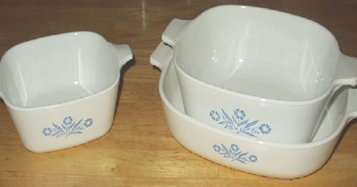 Those Vintage CorningWare Everyone Loved Is Coming Back To A Store Near You
